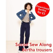 Are you ready for this month's social sewalong? ✂️With your favourite instructors for a wardrobe staple, the Bertha trousers! The sewalong starts next week, read down below to find out when it will take place in your language. You can download this pattern until 1 November at a bargain price with the code SocialBertha. ⠀⠀⠀⠀⠀⠀⠀⠀⠀ ⠀⠀⠀⠀⠀⠀⠀⠀⠀ - Monday 26/10 at 20:30: Spanish version⠀⠀⠀⠀⠀⠀⠀⠀⠀ - Tuesday 27/10 at 20:30: German version⠀⠀⠀⠀⠀⠀⠀⠀⠀ - Wednesday 28/10 at 20:30: French version⠀⠀⠀⠀⠀⠀⠀⠀⠀ - Thursday 29/10 at 20:30: Dutch version⠀⠀⠀⠀⠀⠀⠀⠀⠀ - Friday 30/10 at 20:30: English version⠀⠀⠀⠀⠀⠀⠀⠀⠀ ⠀⠀⠀⠀⠀⠀⠀⠀⠀ Can't make it to the IG live? Don't worry! You can always rewatch in on Instagram TV or fibremood.com⠀⠀⠀⠀⠀⠀⠀⠀⠀ ⠀⠀⠀⠀⠀⠀⠀⠀⠀ #fibremood #fibremoodmagazine #sewingmagazine #patternmagazine #sew #sewista #welovesewing #instasew #instasewing #sewersofinstagram #sewcialist #diy #couture #makersgonnamake #diywardrobe #memade #memadeeveryday #diyfashion #ilovesewing #makeitsewcial #sewist #millennialsewing #sewing #sewistsofinstagram #jecouds #jeportecequejecouds #fibremoodbertha