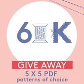 YES! Thanks to all of you we are now inspiring 60K Sewistas on Instagram 😍 ⠀⠀⠀⠀⠀⠀⠀⠀⠀ ⠀⠀⠀⠀⠀⠀⠀⠀⠀ To celebrate we give away 5 PDF patterns of choice to 5 sewista's!⠀⠀⠀⠀⠀⠀⠀⠀⠀ This is what you need to do:⠀⠀⠀⠀⠀⠀⠀⠀⠀ 1. Follow our page and like this post⠀⠀⠀⠀⠀⠀⠀⠀⠀ 2. Tell us in the comments of this post why you need to win!⠀⠀⠀⠀⠀⠀⠀⠀⠀ ⠀⠀⠀⠀⠀⠀⠀⠀⠀ We'll announce the 5 winners the 19th of Oktober!⠀⠀⠀⠀⠀⠀⠀⠀⠀  GOOD LUCK🍀⠀