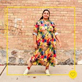 This fabric gives us happy vibes! A beautiful Feliz dress as seen on @sewlike⠀⠀⠀⠀⠀⠀⠀⠀⠀ ⠀⠀⠀⠀⠀⠀⠀⠀⠀ #Fibremoodfeliz |Fibre Mood 12⠀⠀⠀⠀⠀⠀⠀⠀⠀ ⠀⠀⠀⠀⠀⠀⠀⠀⠀ #repost  @sewlike⠀⠀⠀⠀⠀⠀⠀⠀⠀ ⠀⠀⠀⠀⠀⠀⠀⠀⠀ #moodoftheweek #fibremood #fibremoodmagazine #sewingmagazine #patternmagazine #sew #sewista #welovesewing #instasewing #sewersofinstagram #sewcialist #diy #couture #makersgonnamake #diywardrobe #memade #memadeeveryday #diyfashion #ilovesewing #makeitsewcial #sewist #millennialsewing #sewing #sewistsofinstagram #jecouds #jeportecequejecouds