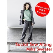 Are you ready for next weeks social sewalong? ⠀⠀⠀⠀⠀⠀⠀⠀⠀ ⠀⠀⠀⠀⠀⠀⠀⠀⠀ It's the Mika Sweater! The sewalong starts next week, read down below to find out when it will take place in your language. You can download this pattern for free, until 24/01 using the code SocialMika.⠀⠀⠀⠀⠀⠀⠀⠀⠀ You can go directly to the shop clicking the link in bio.⠀⠀⠀⠀⠀⠀⠀⠀⠀ ⠀⠀⠀⠀⠀⠀⠀⠀⠀ - Monday 18/01 at 20:30: Spanish version⠀⠀⠀⠀⠀⠀⠀⠀⠀⠀⠀ - Tuesday 19/01 at 20:30: German version⠀⠀⠀⠀⠀⠀⠀⠀⠀ - Wednesday 20/01 at 20:30: French version⠀⠀⠀⠀⠀⠀⠀⠀⠀ - Thursday 21/01 at 20:30: Dutch version⠀⠀⠀⠀⠀⠀⠀⠀⠀ - Friday 22/01 at 20:30 CET: English version⠀⠀⠀⠀⠀⠀⠀⠀⠀ ⠀⠀⠀⠀⠀⠀⠀⠀⠀ Can't make it to the IG live? Don't worry! You can always rewatch it on Instagram TV⠀⠀⠀⠀⠀⠀⠀⠀⠀ ⠀⠀⠀⠀⠀⠀⠀⠀⠀ #fibremood #fibremoodmagazine #sewingmagazine #patternmagazine #sew #sewista #welovesewing #instasew #instasewing #sewersofinstagram #sewcialist #diy #couture #makersgonnamake #diywardrobe #memade #memadeeveryday #diyfashion #ilovesewing #makeitsewcial #sewist #millennialsewing #sewing #sewistsofinstagram #jecouds #jeportecequejecouds #fibremoodharold