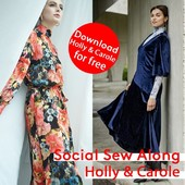 Are you ready for the holidays? Or do you still need a festive dress? These next social sew alongs help you out! Holly and Carole, choose your favourite or make them both! ⠀⠀⠀⠀⠀⠀⠀⠀⠀ ⠀⠀⠀⠀⠀⠀⠀⠀⠀ The sewalong starts next week, read down below to find out when they will take place in your language. Since lockdown is back, we decided to offer the PDF pattern for each new Social Sew Along for free. So you can download these patterns for free now, using the code SocialHolly and SocialCarole ⠀⠀⠀⠀⠀⠀⠀⠀⠀ You can find all the information you need by clicking the link in bio.⠀⠀⠀⠀⠀⠀⠀⠀⠀ ⠀⠀⠀⠀⠀⠀⠀⠀⠀ - Monday 07/12 at 19:30: Holly Spanish version⠀⠀⠀⠀⠀⠀⠀⠀⠀⠀⠀ - Tuesday 08/12 at 20:30: Holly German version⠀⠀⠀⠀⠀⠀⠀⠀⠀ - Wednesday 09/12 at 20:30: Holly French version⠀⠀⠀⠀⠀⠀⠀⠀⠀ - Thursday 10/12 at 20:30: Holly Dutch version⠀⠀⠀⠀⠀⠀⠀⠀⠀ - Friday 11/12 at 20:30 CET: Holly English version⠀⠀⠀⠀⠀⠀⠀⠀⠀ ⠀⠀⠀⠀⠀⠀⠀⠀⠀ - Monday 14/12 at 19:30: Carole Spanish version⠀⠀⠀⠀⠀⠀⠀⠀⠀⠀⠀ - Tuesday 15/12 at 20:30: Carole German version⠀⠀⠀⠀⠀⠀⠀⠀⠀ - Wednesday 16/12 at 20:30: Carole French version⠀⠀⠀⠀⠀⠀⠀⠀⠀ - Thursday 17/12 at 20:30: Carole Dutch version⠀⠀⠀⠀⠀⠀⠀⠀⠀ - Friday 18/12 at 20:30 CET: Carole English version⠀⠀⠀⠀⠀⠀⠀⠀⠀ ⠀⠀⠀⠀⠀⠀⠀⠀⠀ Can't make it to the IG live? Don't worry! You can always rewatch it on Instagram TV⠀⠀⠀⠀⠀⠀⠀⠀⠀ ⠀⠀⠀⠀⠀⠀⠀⠀⠀ #fibremood #fibremoodmagazine #sewingmagazine #patternmagazine #sew #sewista #welovesewing #instasew #instasewing #sewersofinstagram #sewcialist #diy #couture #makersgonnamake #diywardrobe #memade #memadeeveryday #diyfashion #ilovesewing #makeitsewcial #sewist #millennialsewing #sewing #sewistsofinstagram #jecouds #jeportecequejecouds #fibremoodholly #fibremoodcarole